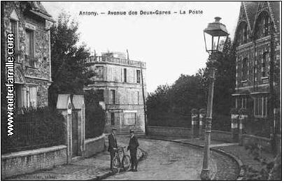 avenue Gabriel Peri Antony autrefois
